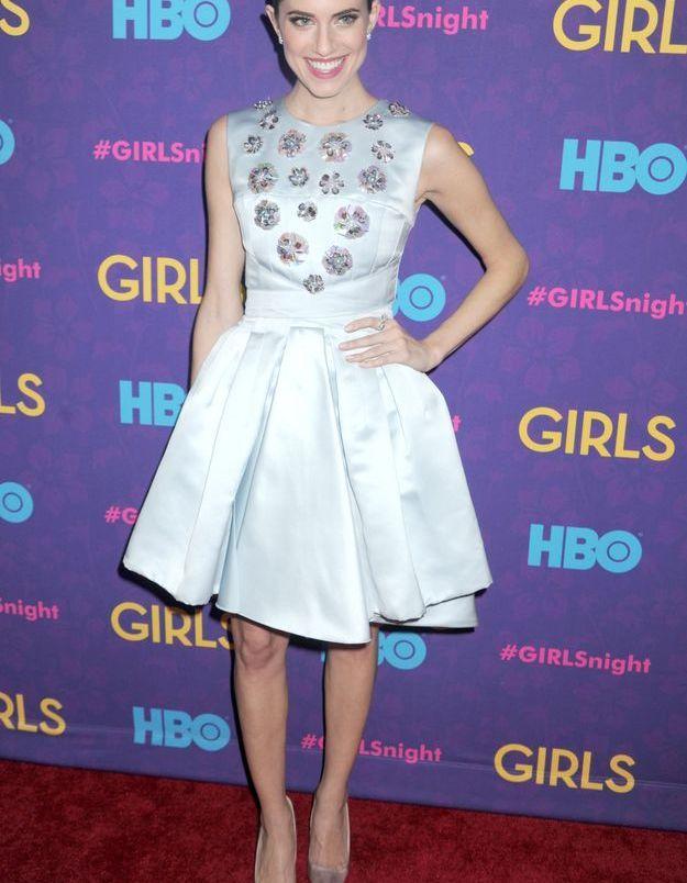 Le look du jour: Allison Williams au lancement de la saison 3 de «Girls»