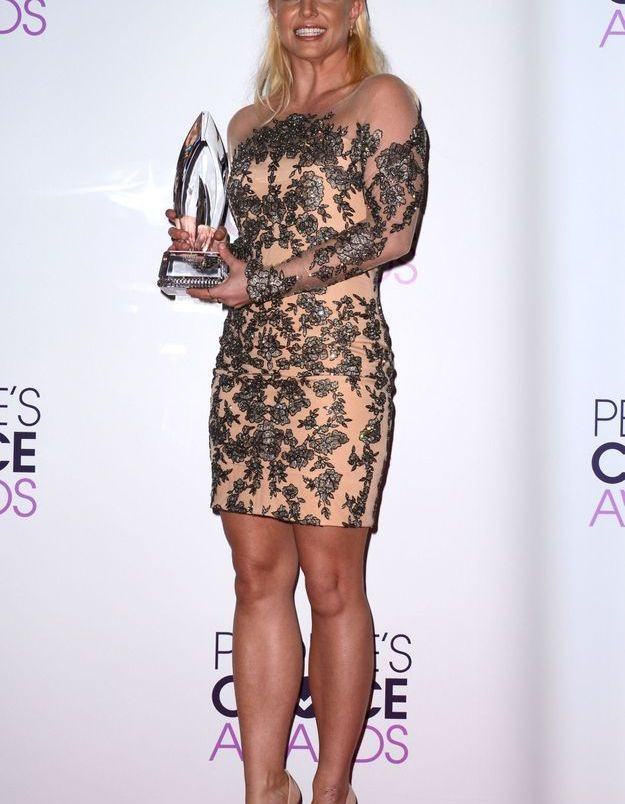 Le look du jour: Britney Spears aux People's Choice Awards