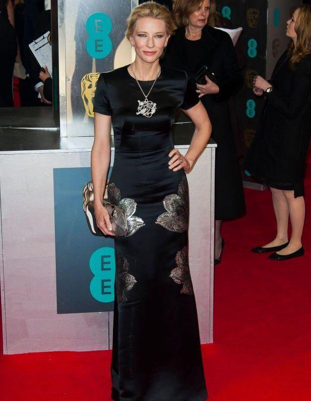 Le look du jour: Cate Blanchett sacrée meilleure actrice aux BAFTAs!