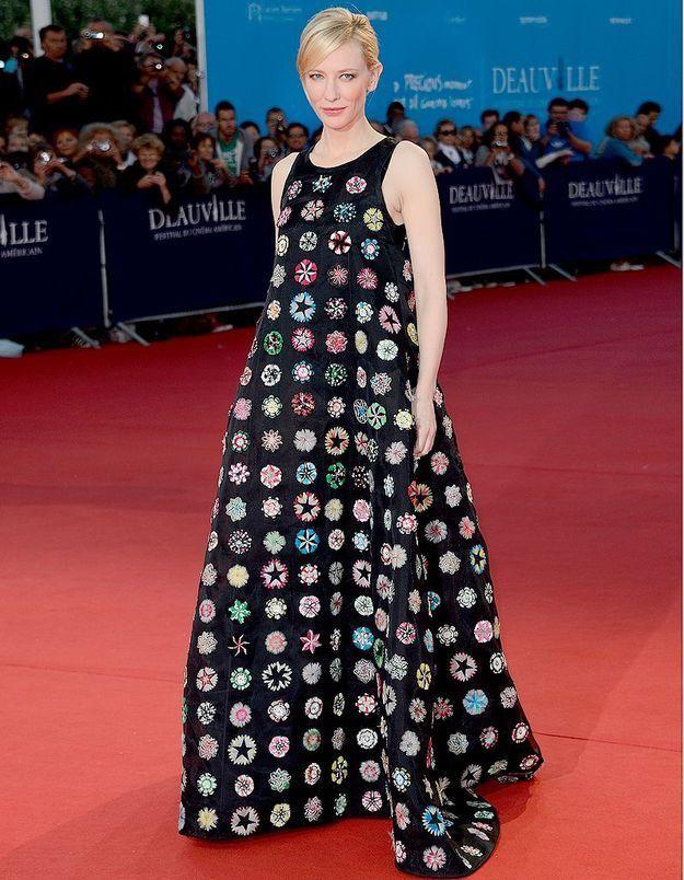 Le look du jour: Cate Blanchett sur les planches de Deauville