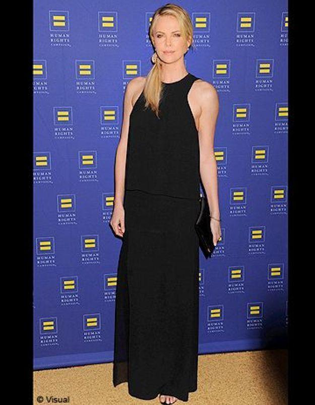 Le look du jour: Charlize Theron