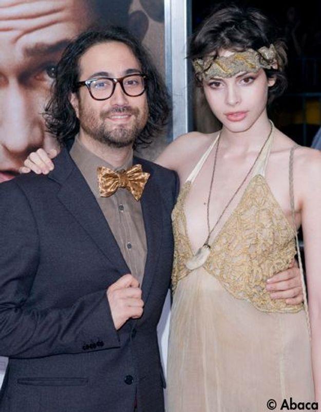 Le look du jour: Charlotte Kemp Muhl et Sean Lennon