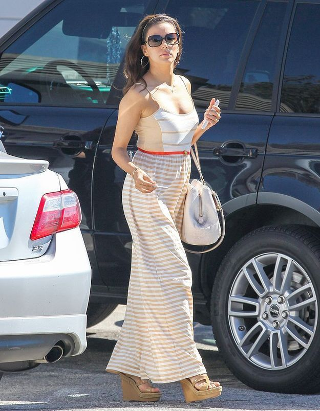 Le look du jour : Eva Longoria et son week-end de célibataire !