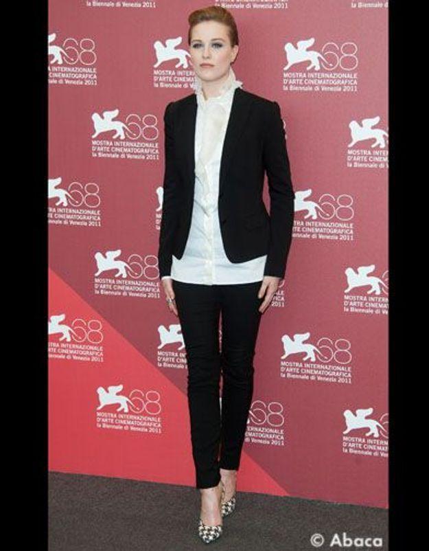 Le look du jour : Evan Rachel Wood