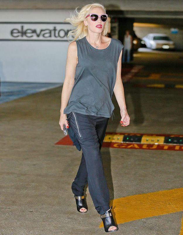 Le look du jour: Gwen Stefani enceinte!