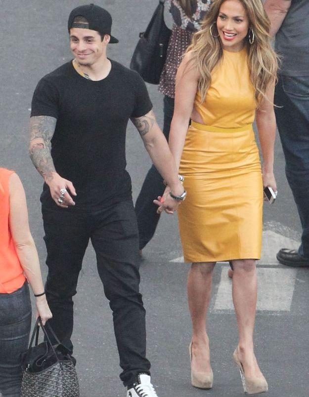 Le look du jour: Jennifer Lopez et son boyfriend Casper Smart