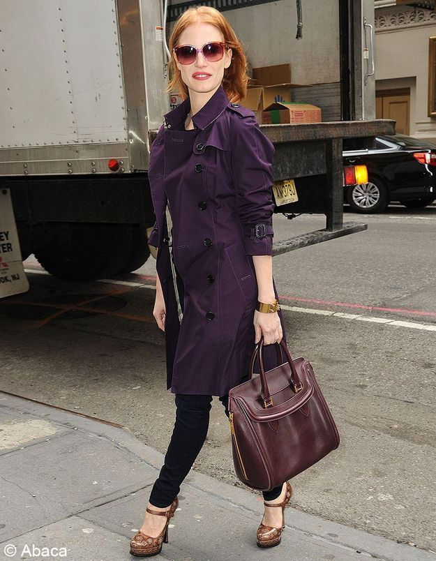 Le look du jour : Jessica Chastain