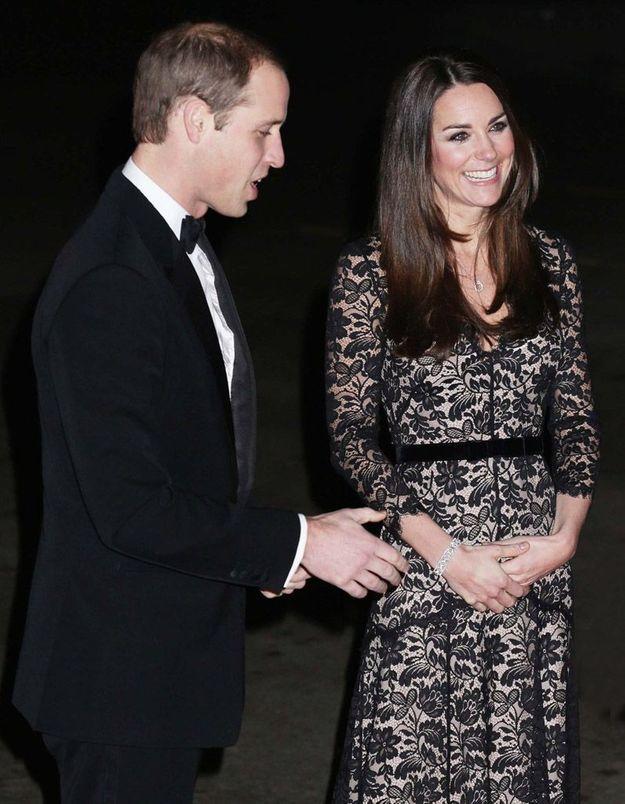 Le look du jour: Kate Middleton et le prince William