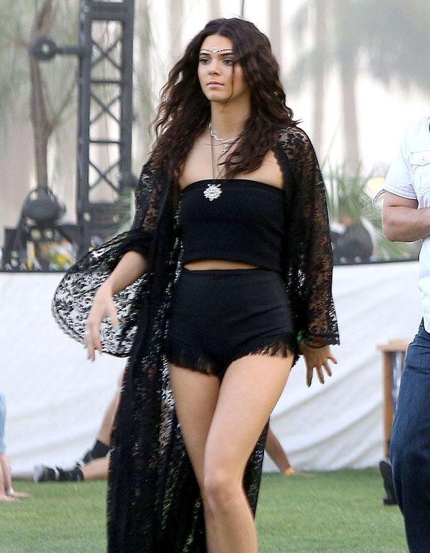 Le look du jour: Kendall Jenner à Coachella