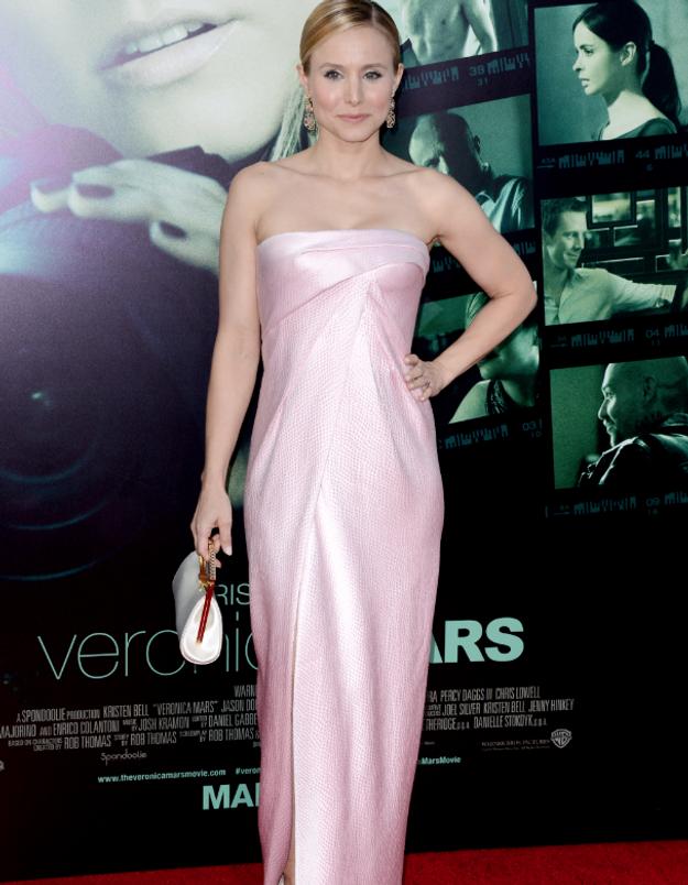 Le look du jour: Kristen Bell à l'avant-première de Veronica Mars