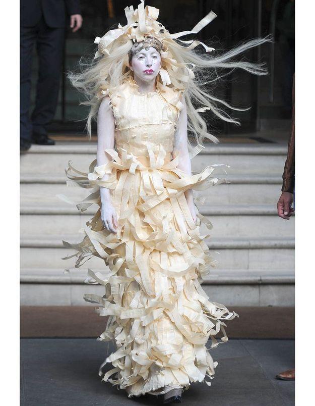 Le look du jour: Lady Gaga et sa mode excentrique
