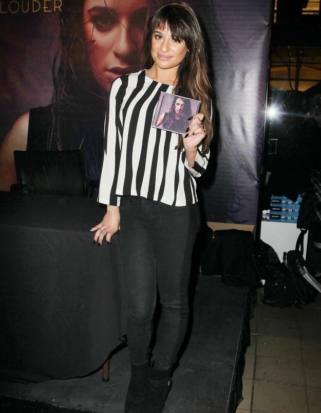 Le look du jour: Lea Michele présente l'album «Louder»