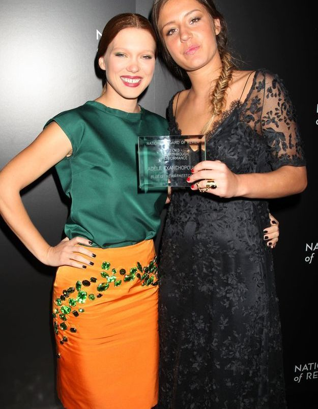 Le look du jour: Léa Seydoux et Adèle Exarchopoulos