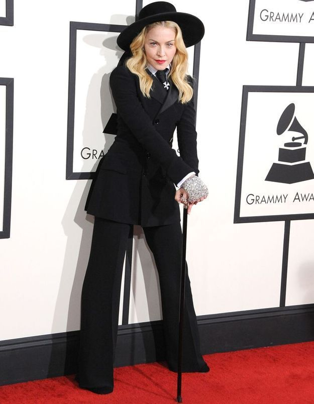 Le look du jour : Madonna en Ralph Lauren aux Grammy Awards 2014