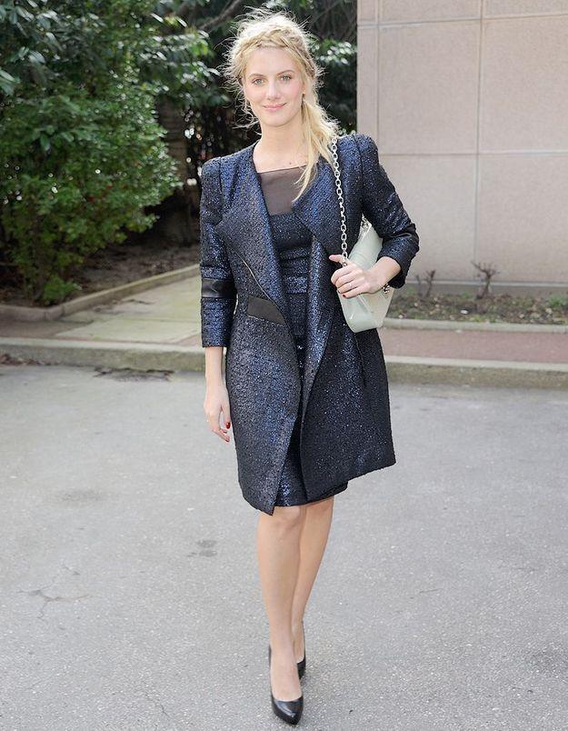 Le look du jour : Mélanie Laurent