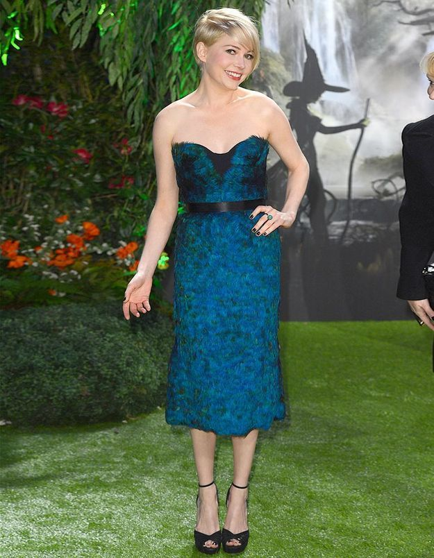 Le look du jour : Michelle Williams