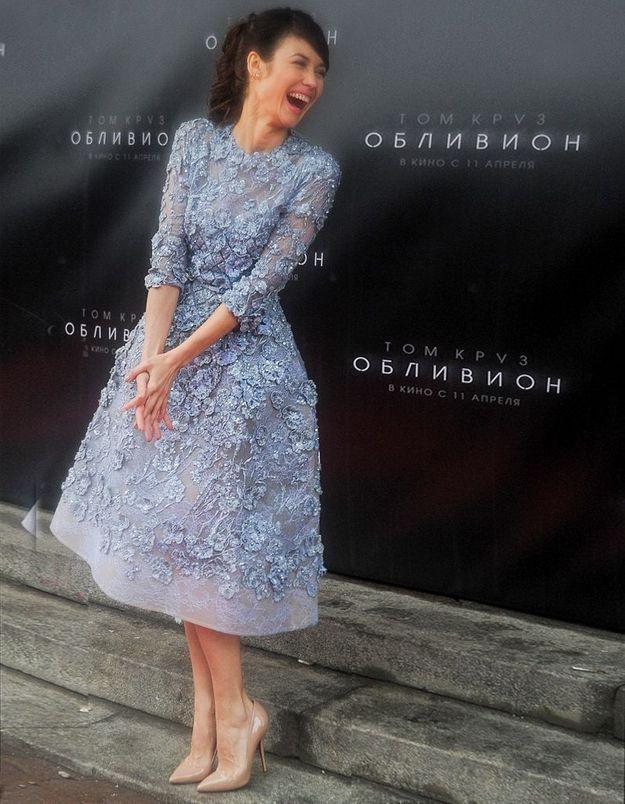 Le look du jour : Olga Kurylenko