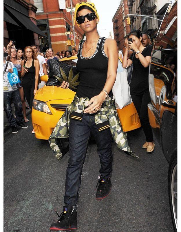 Le look du jour : Rihanna et son revival hip-hop 90's