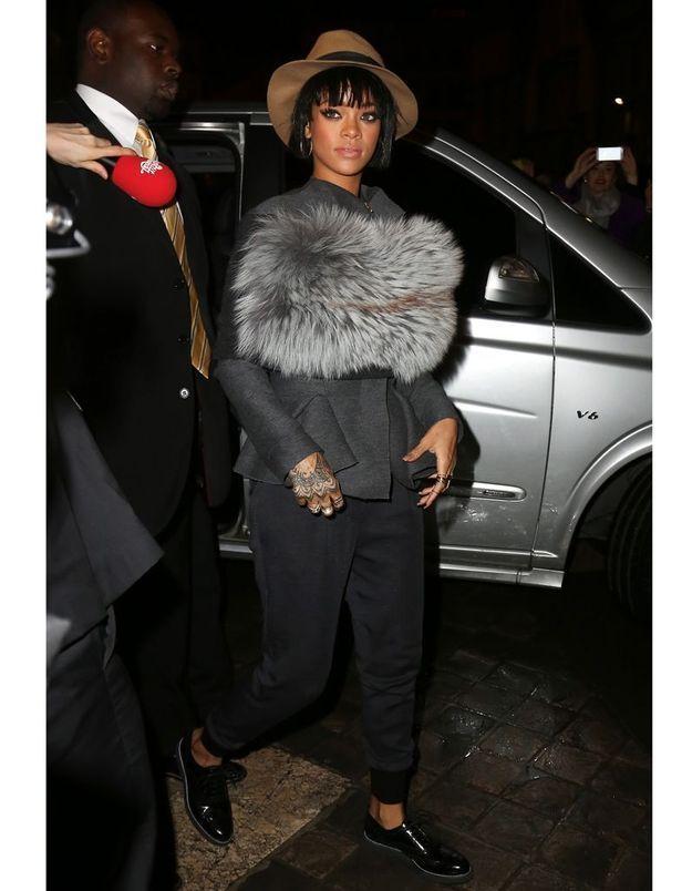 Le look du jour : Rihanna, star du défilé Lanvin