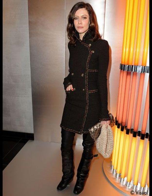 Manteau Noir+rubis