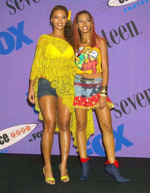 Avec sa soeur Solange (2001)