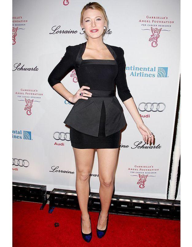 Même en petite robe noire, elle reste sexy. La sienne est signée Victoria Beckham.