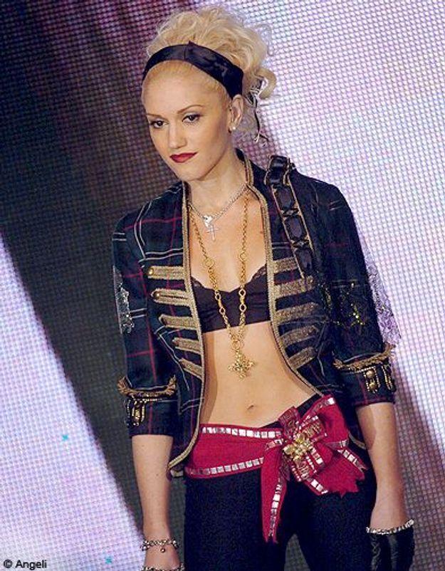 People diaporama tendance nombril a l air Gwen stefani