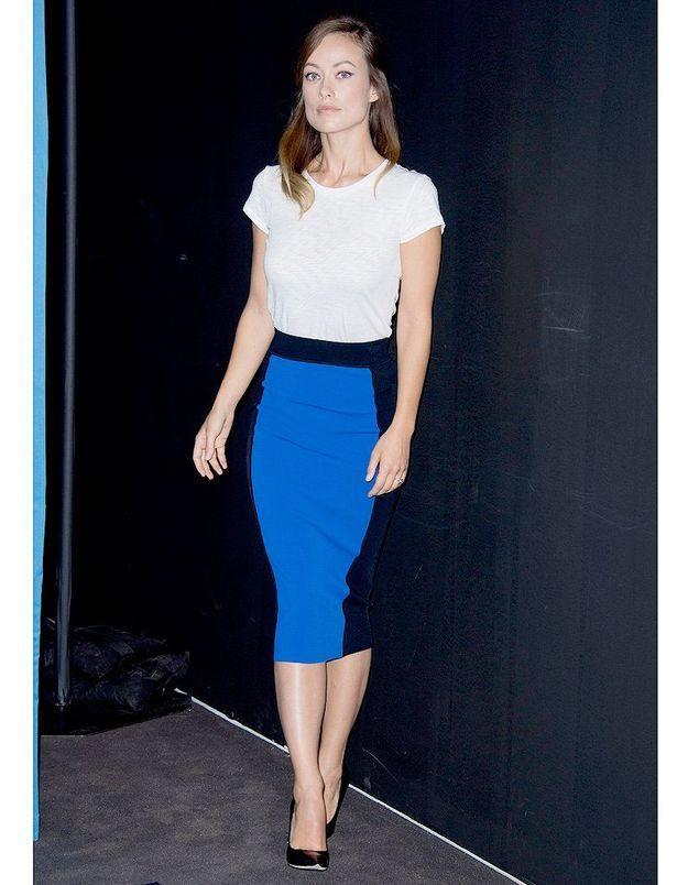 Le bleu Klein d'Olivia Wilde