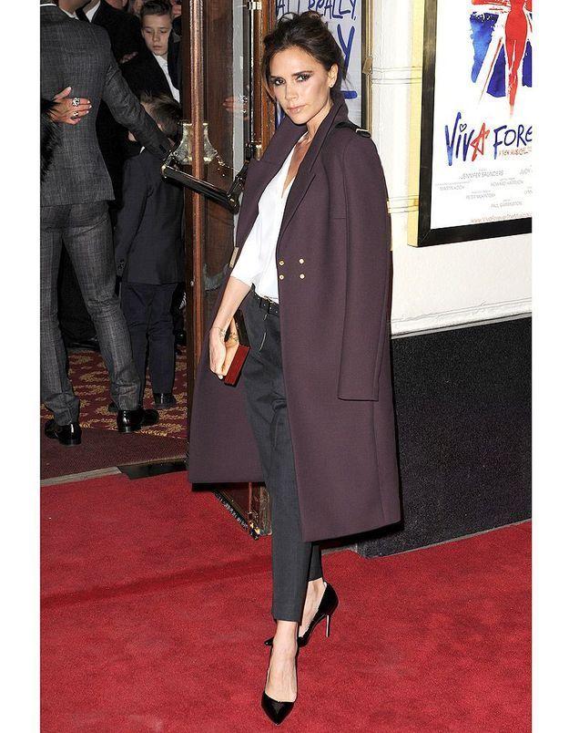 Le manteau oversize de Victoria Beckham
