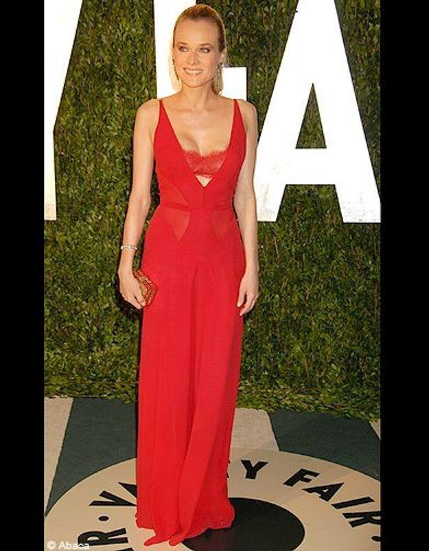 Diane Kruger en Calvin Klein