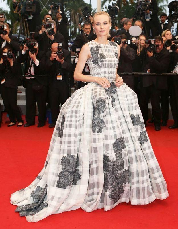 Diane Kruger en Christian Dior