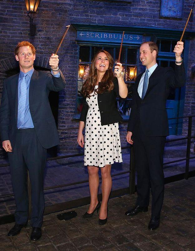 2013 : enceinte du prince George