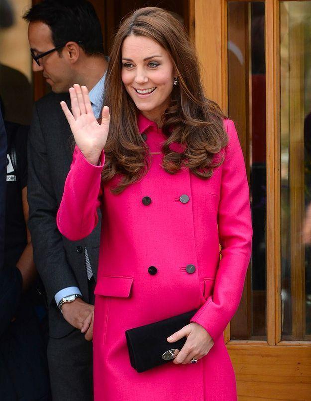 2015 : enceinte de la princesse Charlotte