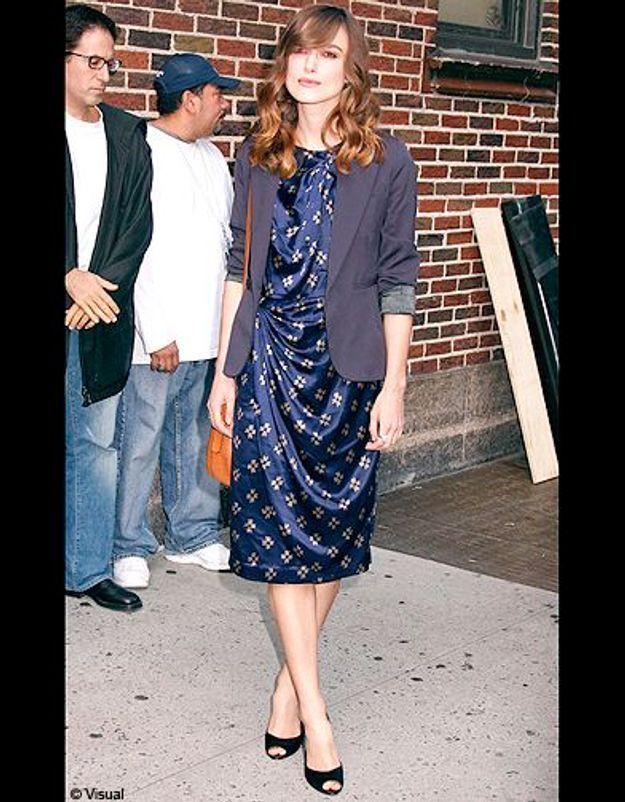 Sa robe bleue