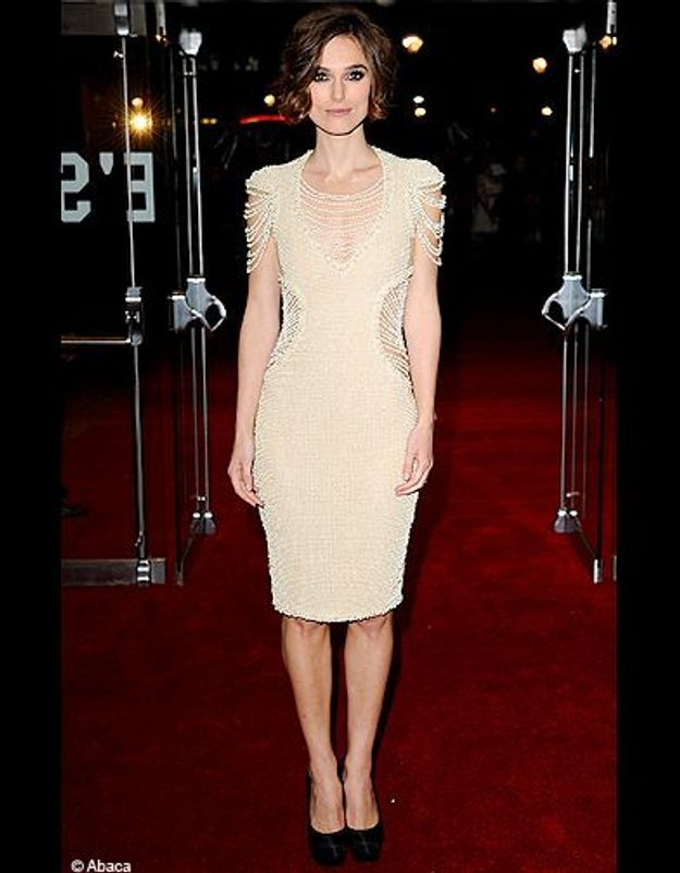 Sa robe Chanel rebrodée