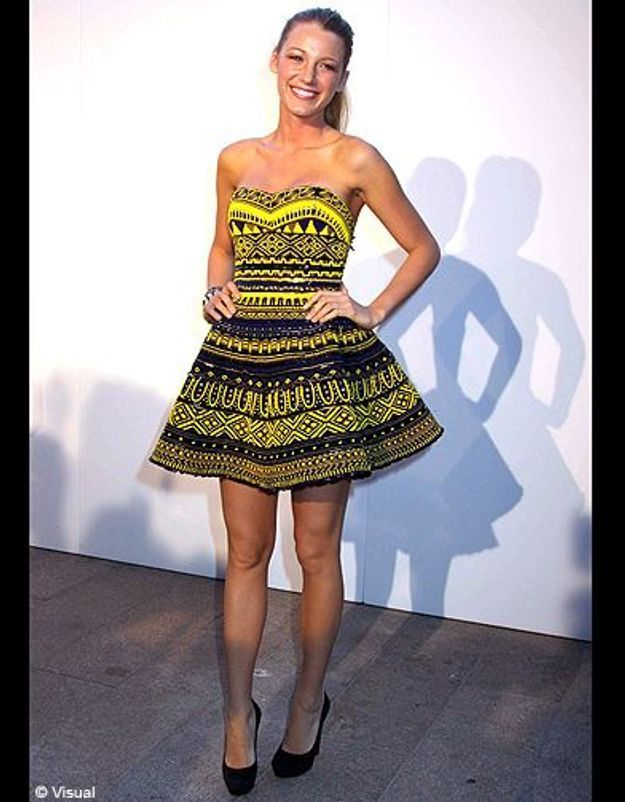 People diaporama tendance mode imprimes africains blake lively