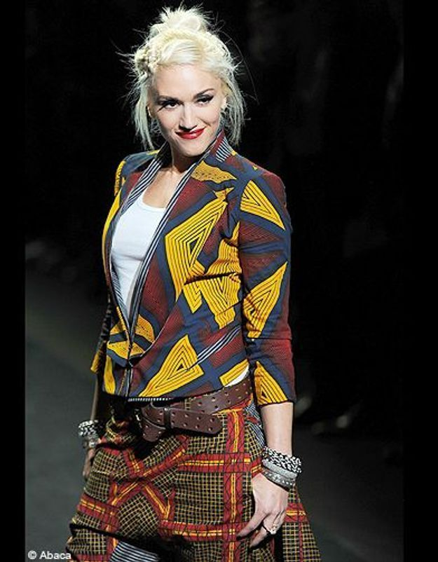 People diaporama tendance mode imprimes africains gwen stefani