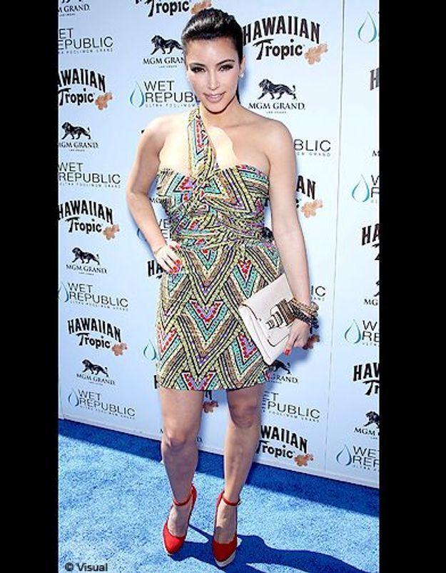 People diaporama tendance mode imprimes africains kim kardashian