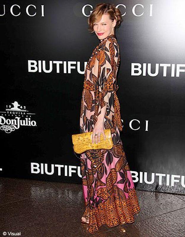 People diaporama tendance mode imprimes africains milla jovovich