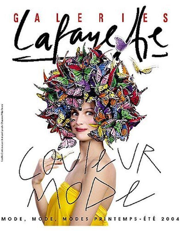 People diaporama laetitia casta 8 galeries Lafayette