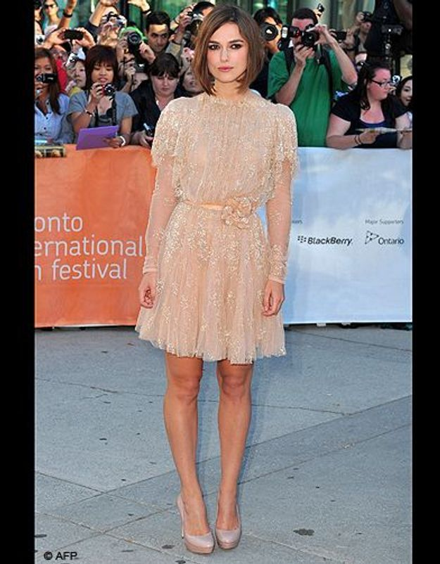 La new glam de Keira Knightley