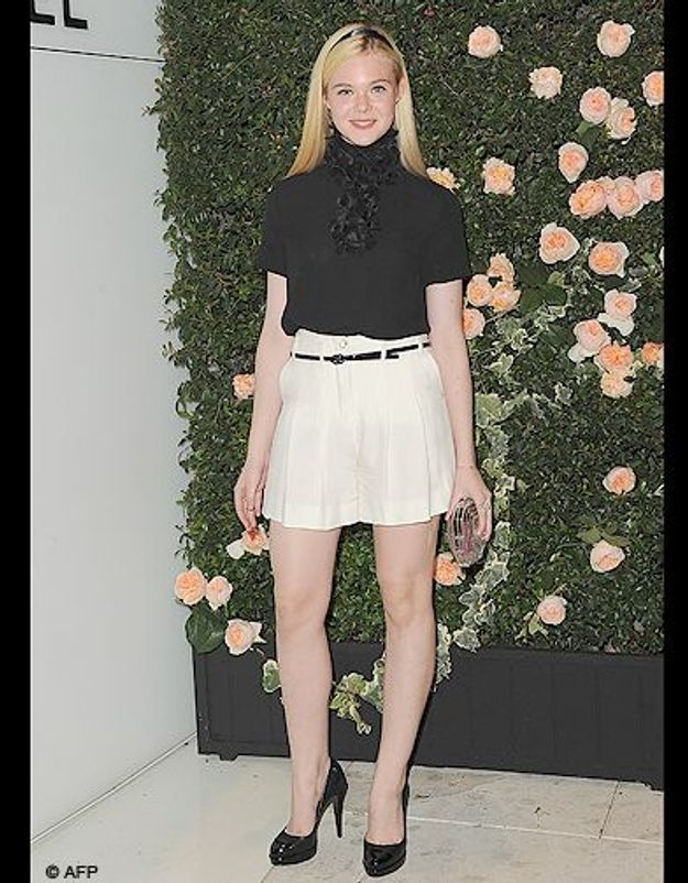 Le girly-chic d'Elle Fanning