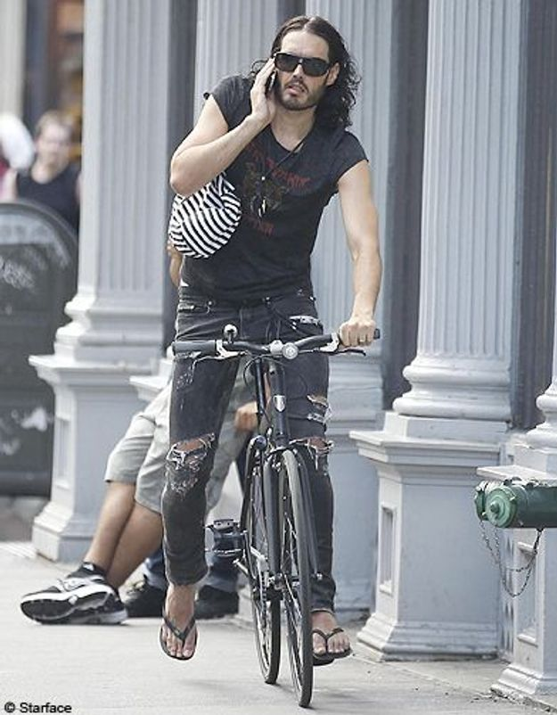 People look velo  Russell brand