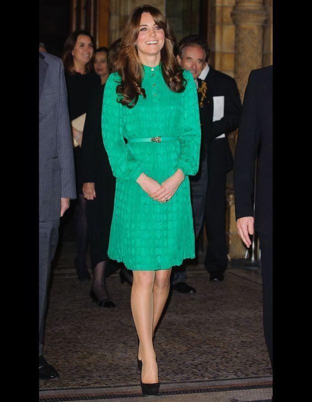 Le vert prairie selon Kate Middleton