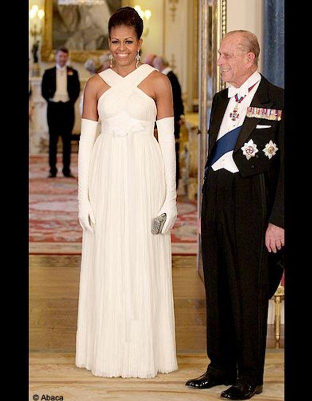 Sa robe de princesse