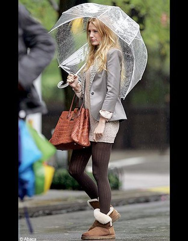 People trajcetoire tendance uggs Blake Lively