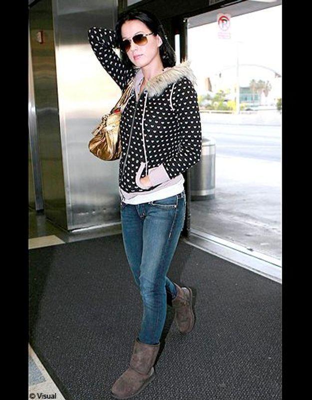 People trajcetoire tendance uggs Katy Perry