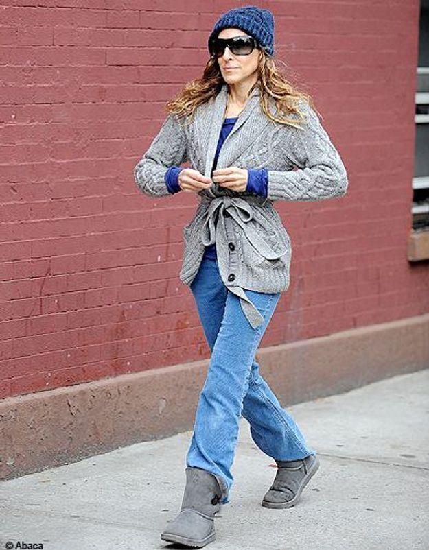 People trajcetoire tendance uggs Sarah Jessica Parker