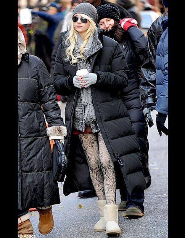 People trajcetoire tendance uggs Taylor Momsen