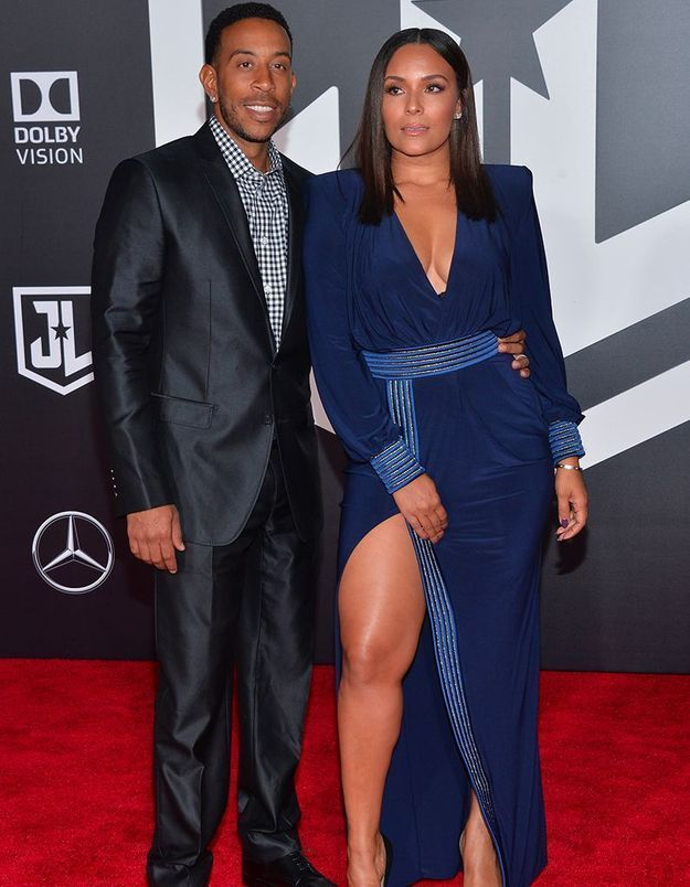 Ludacris et Eudoxie Mbouguiengue